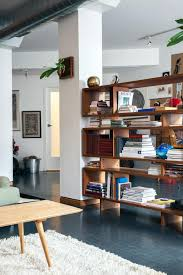 the unplanned designers u0027 loft in brooklyn shelves bedford