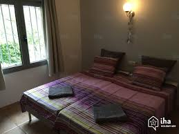 chambre de villa location villa dans une propriété privée à begur iha 61470