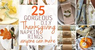 napkin ring ideas 25 gorgeous diy thanksgiving napkin rings to make