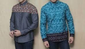 desain baju batik pria 2014 20 desain baju batik modern terbaru desain arena desain arena