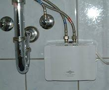 under the sink instant water heater tankless water wikipedia