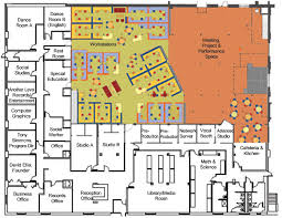 Recording Studio Floor Plans Hip Hop High High For Recording Arts Designshare Projects