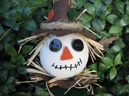 craft klatch fall scarecrow ornament craft tutorial