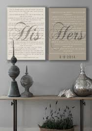 wedding quotes etsy wedding quotes mr and mrs wedding vow wall on stretched