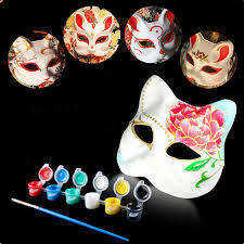 unpainted masks masquerade masks picture more detailed picture about new 2017