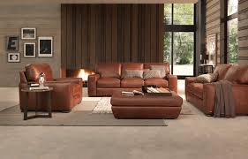 Leather Sectional Sofa Traditional Brandy Leather Sofa Hmmi Us