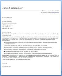 sample resume cover letters free best administrative assistant