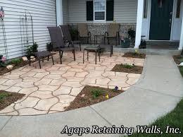 paver patio edging download front yard pavers garden design