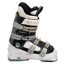 womens size 9 in ski boots lange venus 9 ski boots s 2010 evo