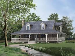 single story house plans with wrap around porch one story house plan wrap around porch lovely home architecture