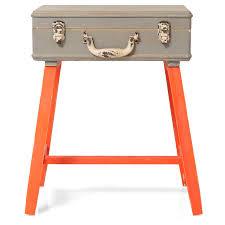 Orange Side Table Orange Suitcase Side Table Oliver Bonas