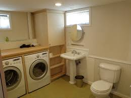 Basement Bathroom Ideas Pictures by Bathroom Beautiful Bathroom Laundry Room Combo With Cool Laundry