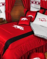 Notre Dame Bedding Sets 15 Best Arkansas Razorback Bedding Images On Pinterest 3 4