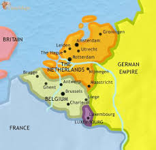 belgium and netherlands map map of the low countries at 1871ad timemaps