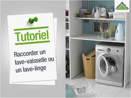 lave linge dans la cuisine machine a laver sous evier cuisine incroyable ment raccorder un lave