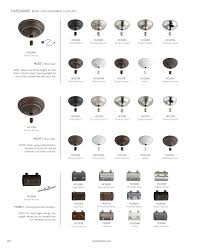 Ceiling Fan Downrod Sizes Monte Carlo 2017 Ceiling Fan Catalog Page 264 265