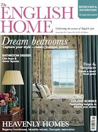 English Home Design Magazines November Uk Edition Of The English Home On Sale Now The English Home