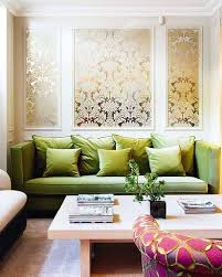 Decor Pad Living Room by Damask Metallic Wallpaper Eclectic Living Room
