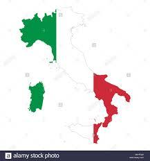 Mass Flag Italy Country Outline Stock Photos U0026 Italy Country Outline Stock