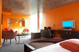 Orange Interior Interior Color Design Elegant For With Interior Color Design