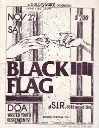 Black Flag Nervous Raymond Pettibon The Art Of Black Flag 1980s Asx