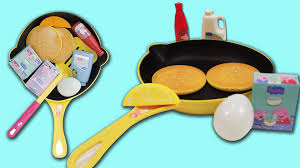 Kitchens For Kids by Peppa Pig Cooking Play Set Pancake Frying Pan Flip N Serve Pretend