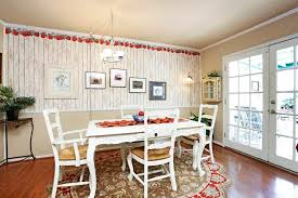 country dining room with carpet u0026 interior wallpaper in houston