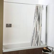 Curved Curtain Track System by Ideas Shower Curtain Rail Inspirations Corner Shower Curtain Rod