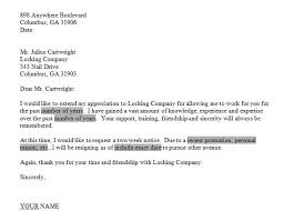 one week notice resignation letter of resignation 2 weeks notice