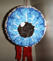 an enticing oasis of creativity eyeball halloween pinata