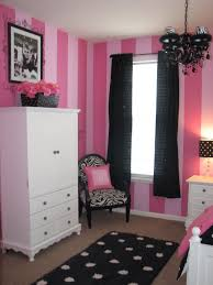 gracies pink and black bedroom we decided to paint all 4 walls