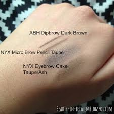 Eyebrow Powder Vs Pencil Beauty In Between Eyebrow Products For Dark Hair Swatches