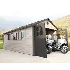 lifetime 11 ft x 21 ft storage shed