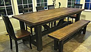 Distressed Dining Set Dining Room Bench Kitchen Table For Sale Stunning Dining Room