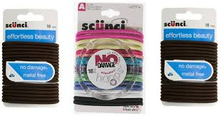 scunci hair ties hot 2 1 scunci elastics 18 pack coupon hip2save