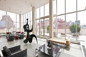 Penthouse Interior Manhattan Penthouse Apartments Home Design Ideas