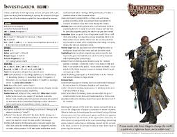 Urban Grace Pathfinder by Adventures In Absalom Character List Boardgamegeek
