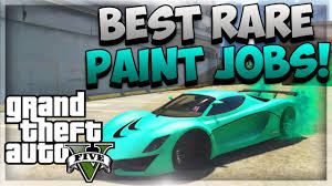 gta 5 how to get mint green shiny blue u0026 toxic yellow rare