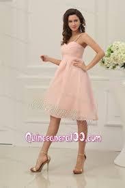 light pink dama dresses baby pink spaghetti straps chiffon dama dress for quinceanera