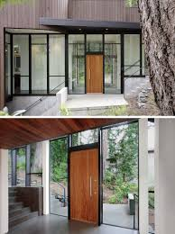 wood front door these 13 sophisticated modern wood door designs add a warm welcome