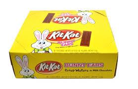 chocolate bunny ears kit crisp chocolate in milk chocolate bunny ears 36 box
