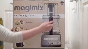 cuisine magimix magimix 5200xl food processor unboxing