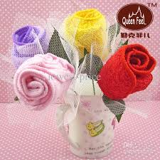 cake towels birthday wedding gift gifts washclothes