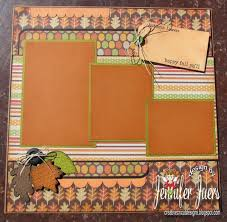450 best scrapbook fall layouts images on