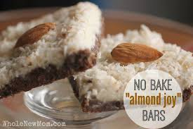 Almond U0026 Coconut Bars Coconut Snack Bars Kind Snacks by Almond Joy Bars No Bake U0026 Healthy Low Carb Aip Whole New Mom