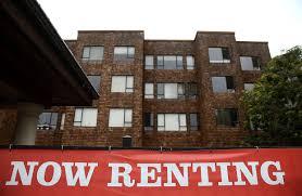 u s apartment rents leap at fastest pace since crisis wsj