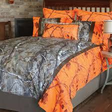 camo bedroom set realtree camo bed sets queen size realtree ap and orange blaze ap