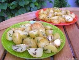 cuisiner les pommes de terre de noirmoutier pommes de terre de noirmoutier à la menthe et au citron