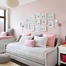 devyn tufted daybed cool cribs heather gray and pink nursery with devyn tufted upholstered daybed