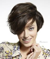short layered bob haircut with easy styling